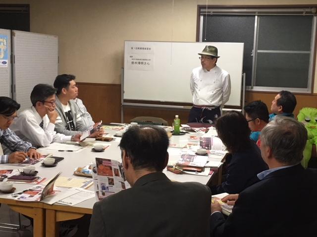 【開催報告】異業種楽習会 鈴木博明さん講演会「商店街が変わる まちが変わる」